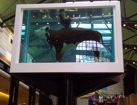 Damien Hirst Cock and Bull Tramshed