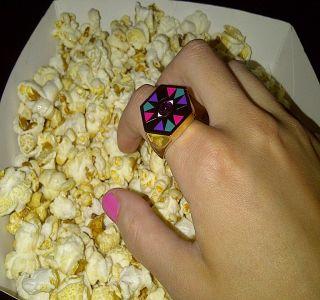I See You Hexagon Eye Ring