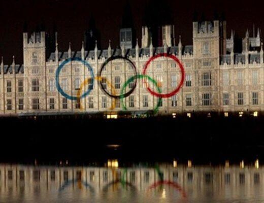 OlympicRingshousesofparliament2