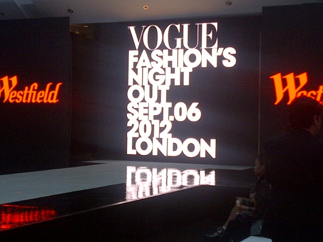 Vogue's Fashion Night Out Westfield