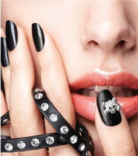 leather and skulls nails inc