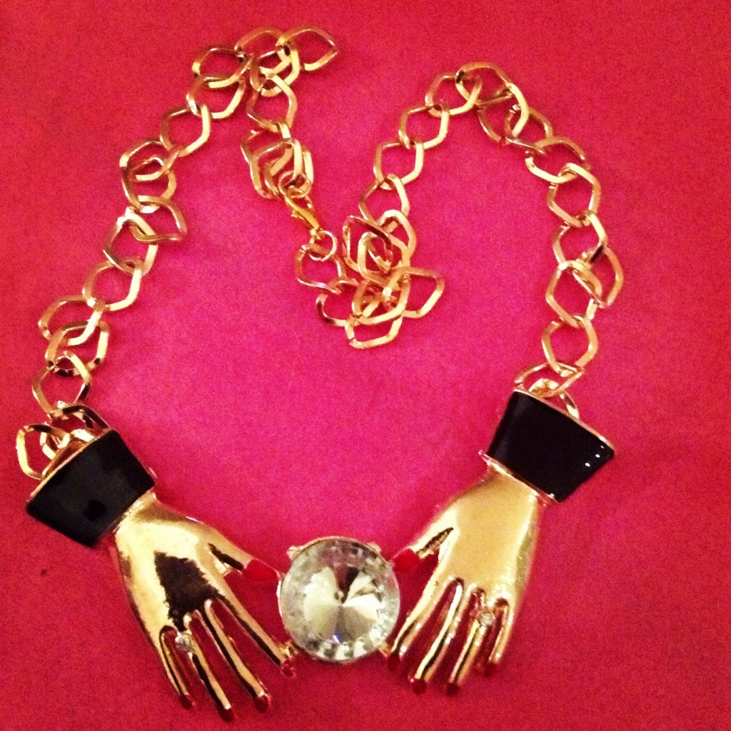 fortune teller necklace chain kukee