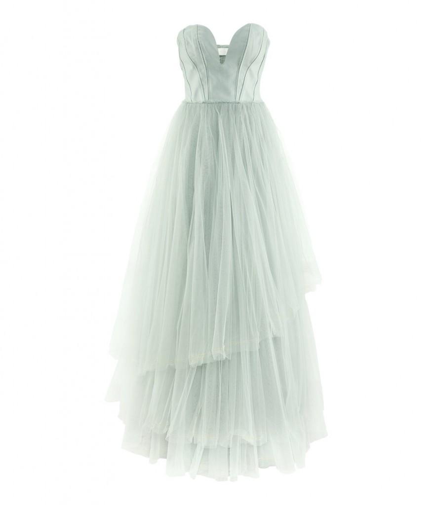 2e655e972de H M Conscious Collection Tulle Light Green Fairytale Dress