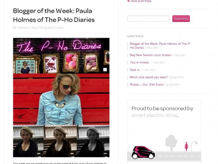 BuyMyWardrobe Blogger of the Week