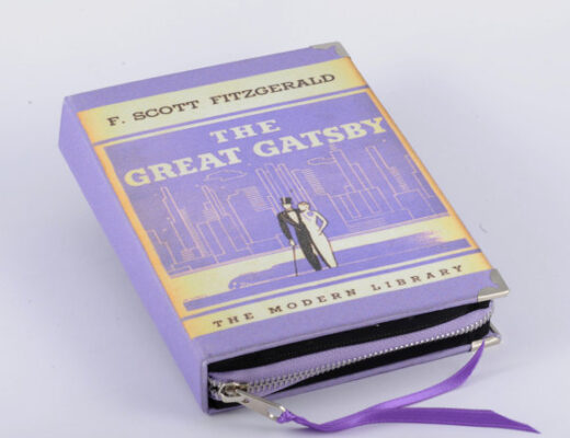 Book Clutches The Great Gatsby