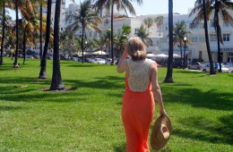 Topshop Tangerine Dress