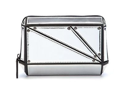 New Look mirrored clutch bag