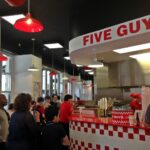 Five Guys London Covent Garden UK