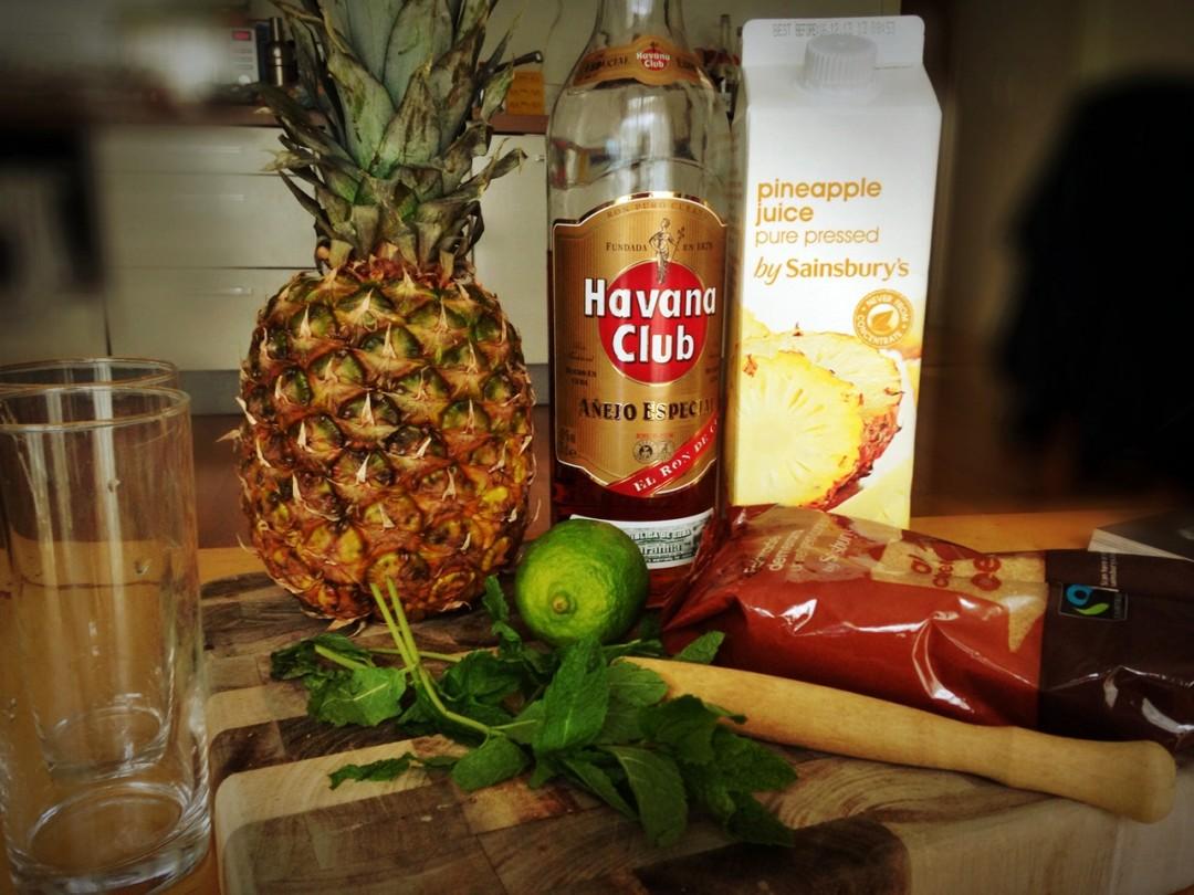 The P-Ho Diaries Pineapple Mojito