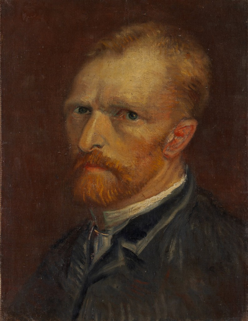 Vincent van Gogh. Self-Portrait, December 1886-January 1887, Collection Gemeentemuseum Den Haag, The Hague