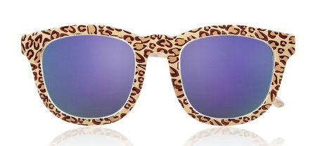Le Specs Noddy Leopard Print
