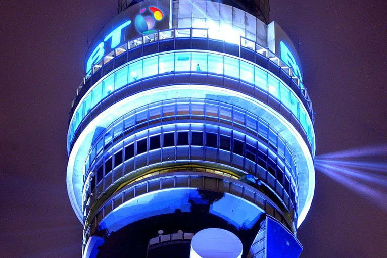 BT Tower Christmas Messages