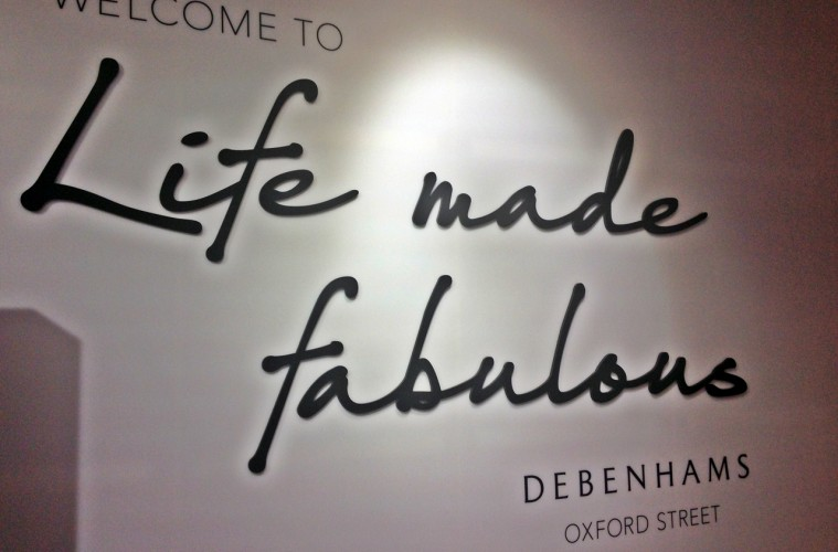 Debenhams Oxford Street Store Fabulous Fortnight