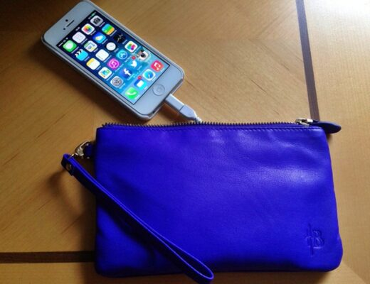 Mighty Purse with in-built phone charger