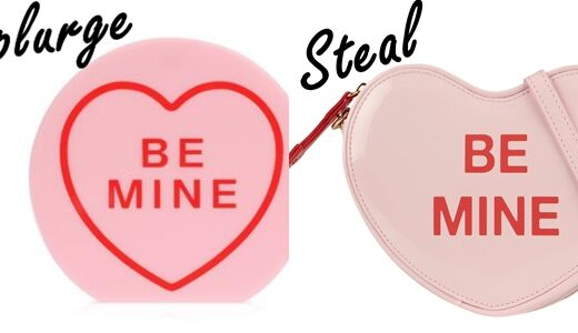 Be Mine Heart Clutch Bag