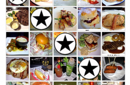 P-Ho Diaries London Food Bingo