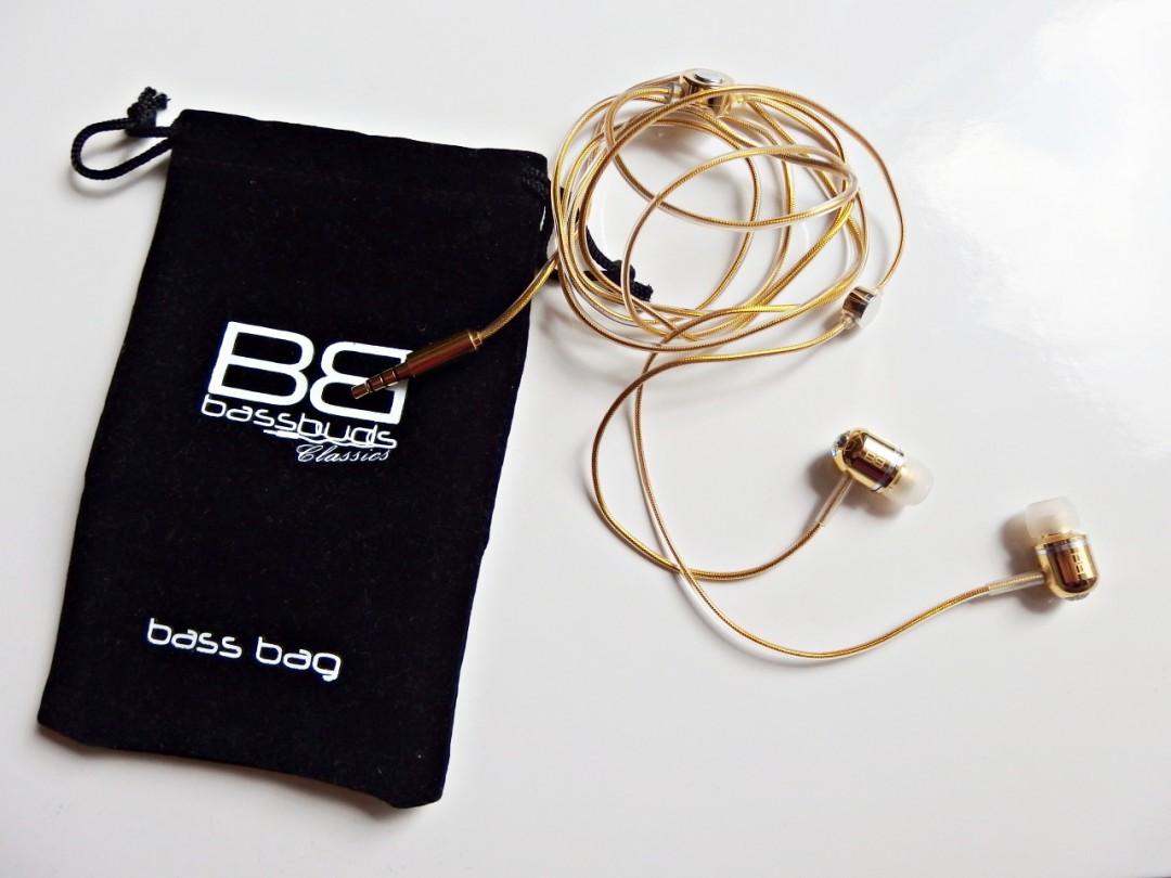 Bassbuds 24 Carat Gold Earphones