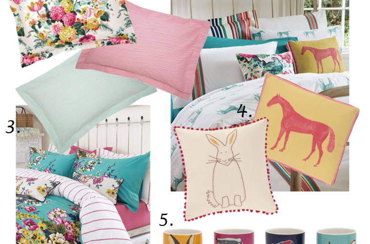 Joules Homeware Wishlist