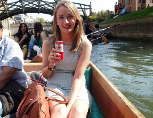 Pimms & Punting Cambridge