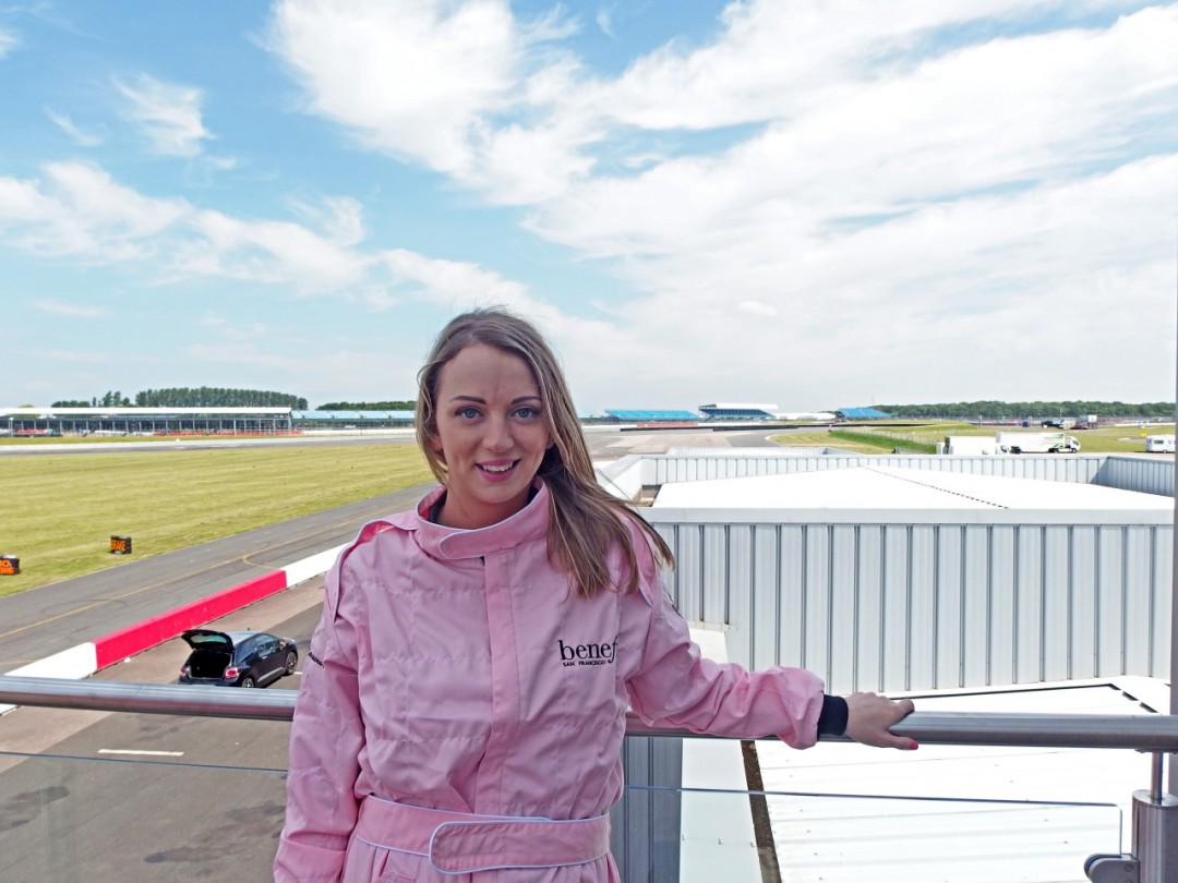 Benefit Beauty Blogger Race At Silverstone