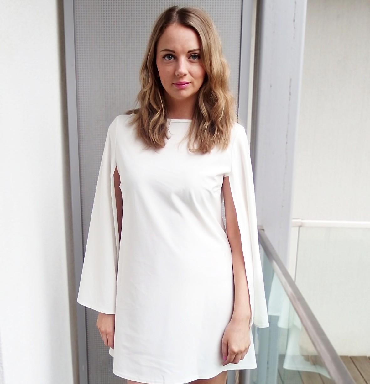 Rare London White Dress