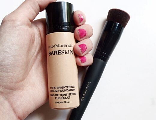Testing out Bare Minerals Foundation