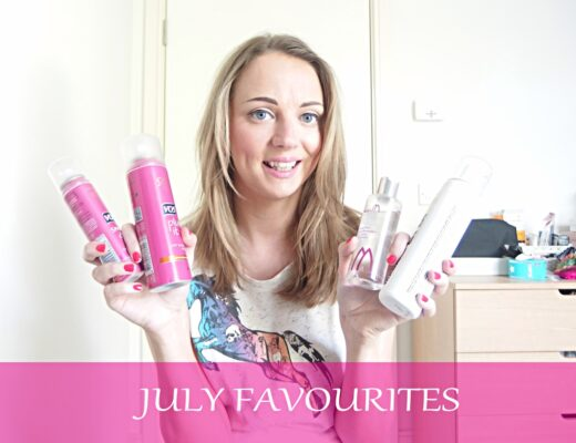 VLOG July Beauty Favourites