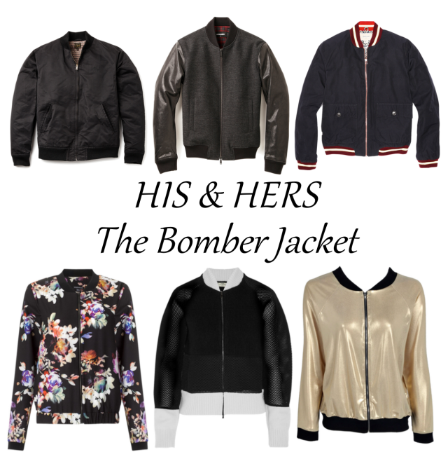 HIS & HERS The Bomber Jacket