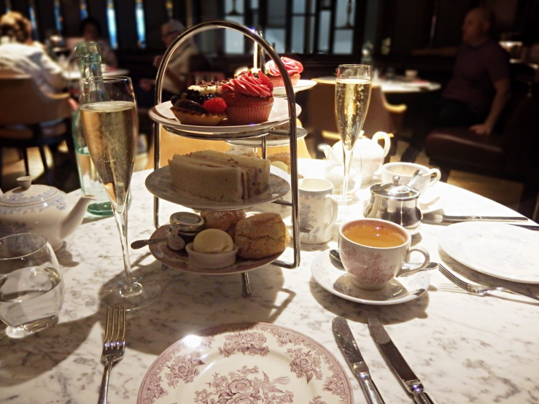 afternoon tea at the strand dining rooms - the ldn diaries