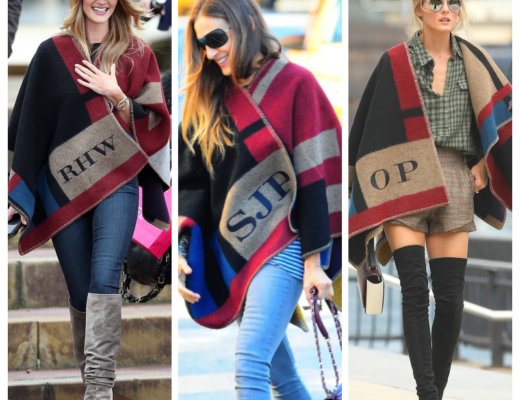 Burberry blanket cape dupes