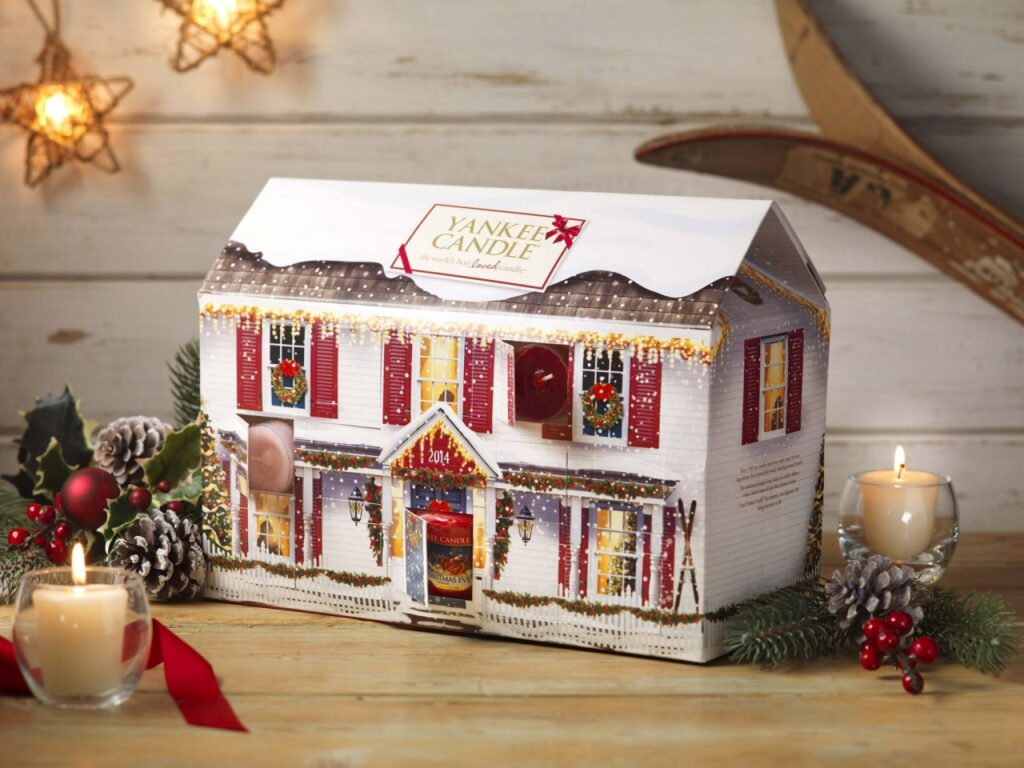 Win Yankee Candle Advent House Calendar