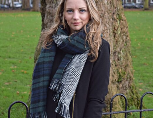 The LDN Diaries wearing New Look scarf