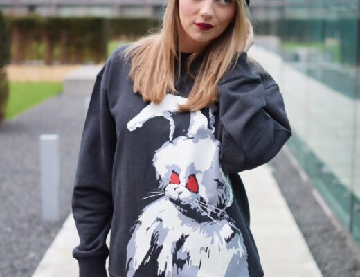 McQ Angry Bunny Sweatshirt