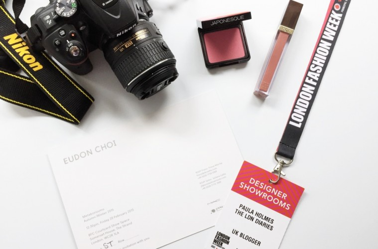 LFW AW15 Blogger View
