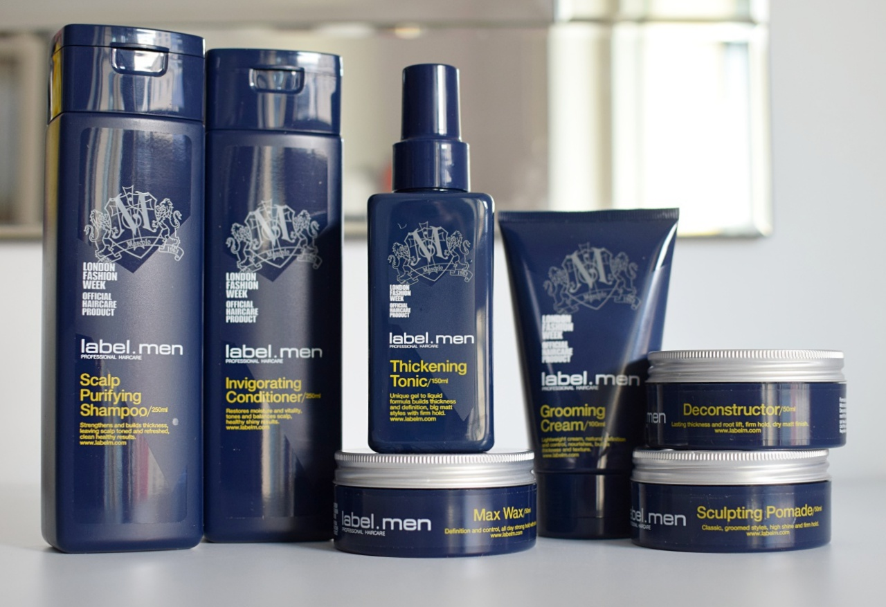 men s hair styling products label haircare review of new label m range for 1351 | DSC 0472