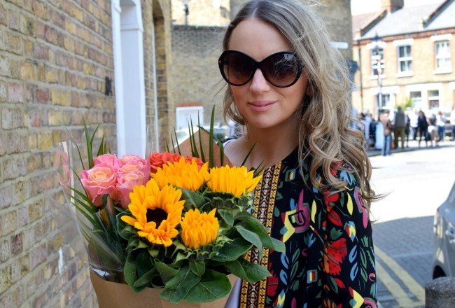 The LDN Diaries with flowers