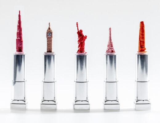 Lipstick landmarks
