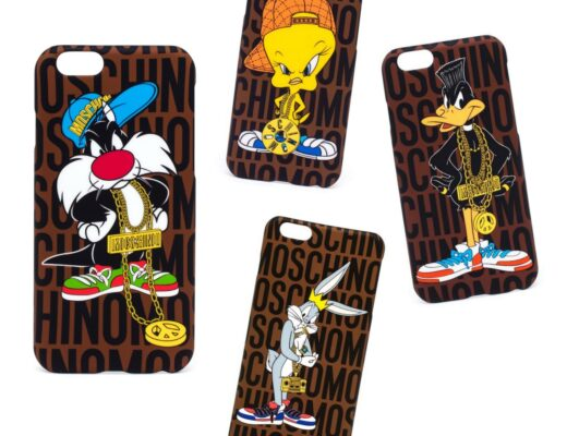 Moschino Looney Tunes iPhone Case