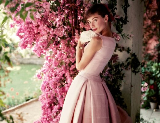 Audrey Hepburn 1955 copy Norman Parkinson Ltd