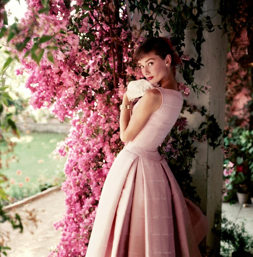 Audrey Hepburn 1955 copy Norman Parkinson Ltd