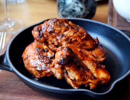 BBQ Baby Chicken Tom's Kitchen