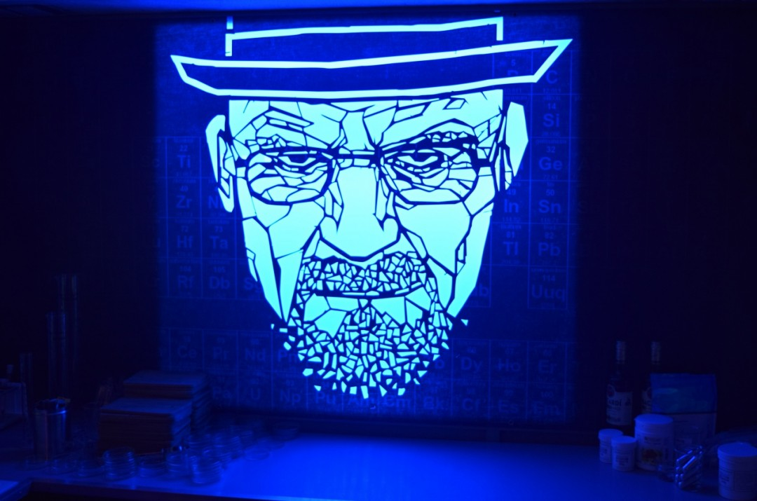 Heisenberg Breaking Bad Pop Up London