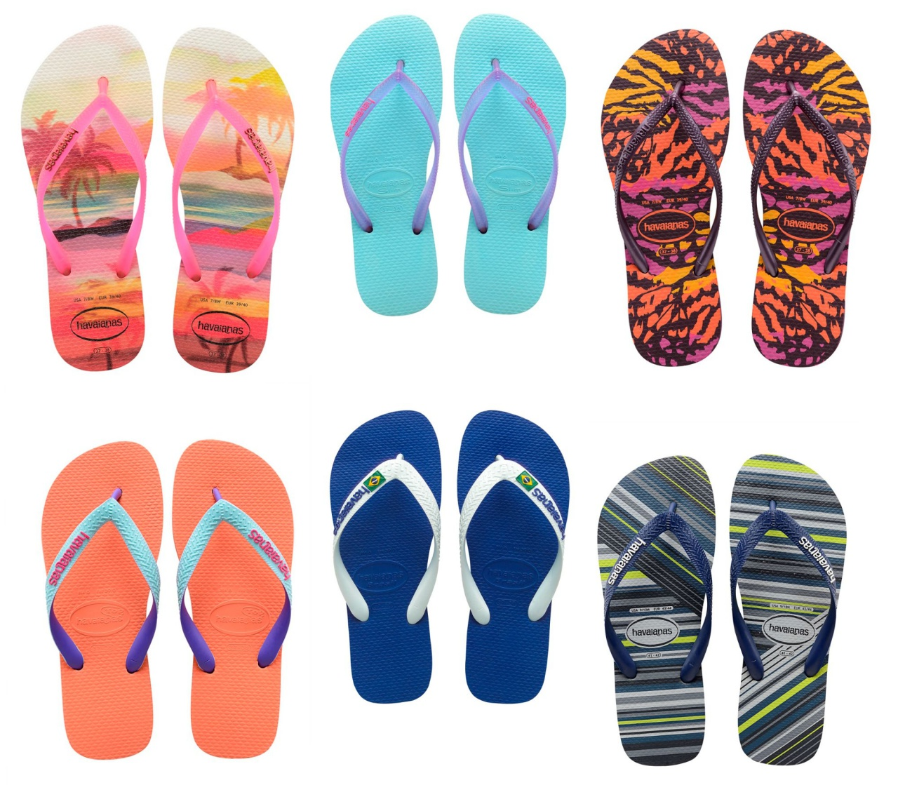 c2fa1170dc5278 Havaianas Launch Summer Beach Showers