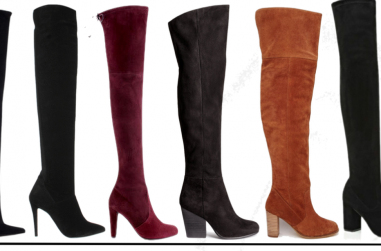 Over The Knee Boots High Street AW15