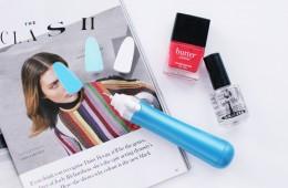 Scholl electronic nail file