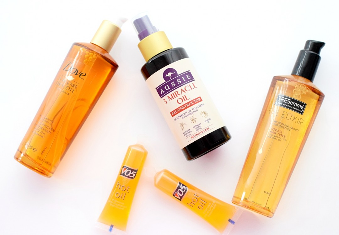 Hair repair oils