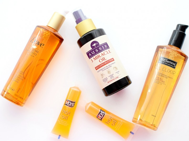 Hair repair oils