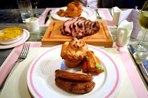 Sunday Roast at Bob Bob Ricard