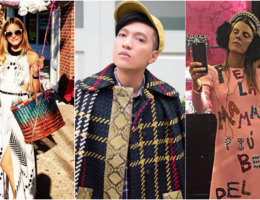who to follow on instagram fashion week