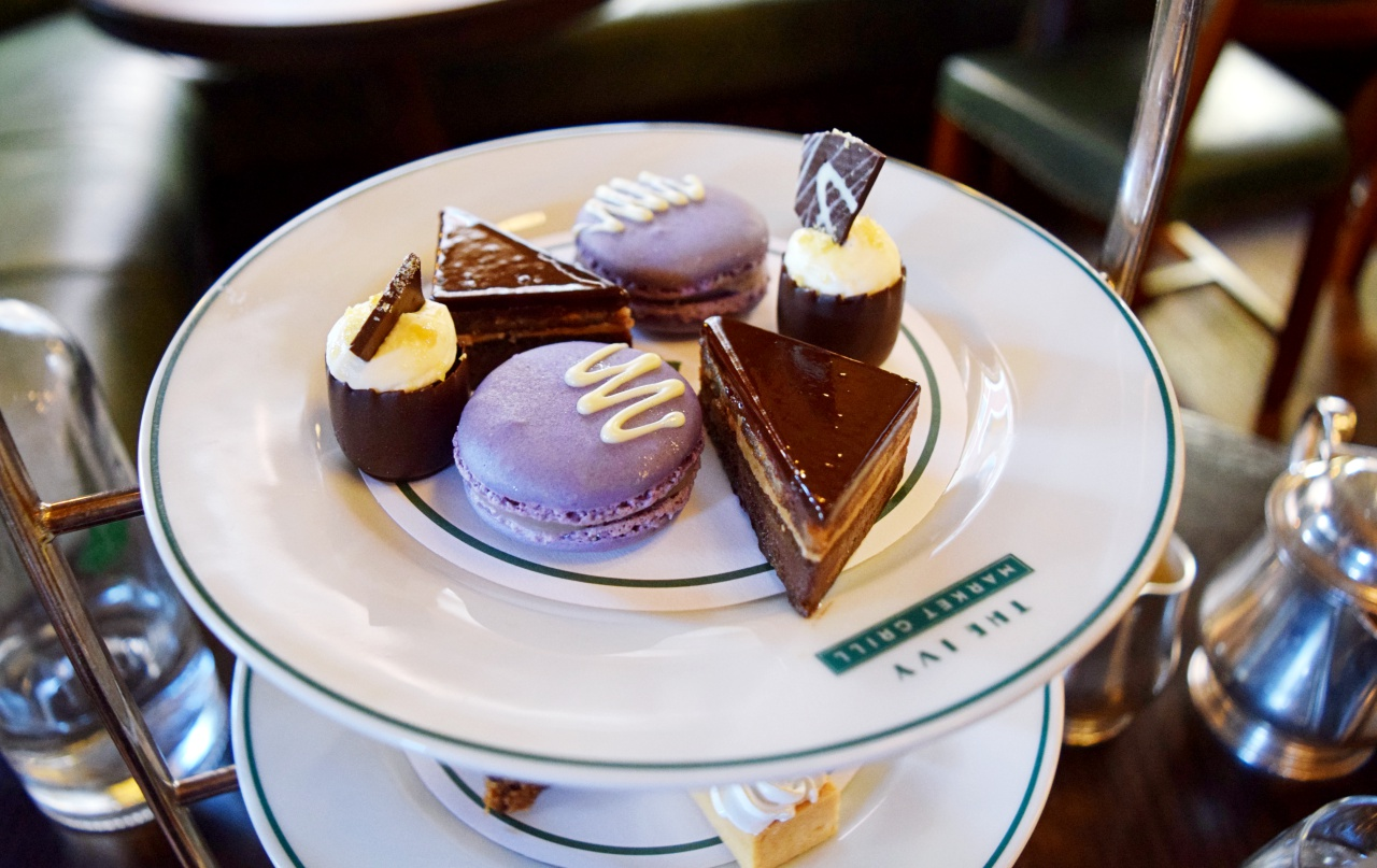 Afternoon Tea The Ivy Market Grill